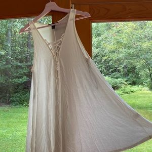 Dress from Forever21, white, soft, flowing, M